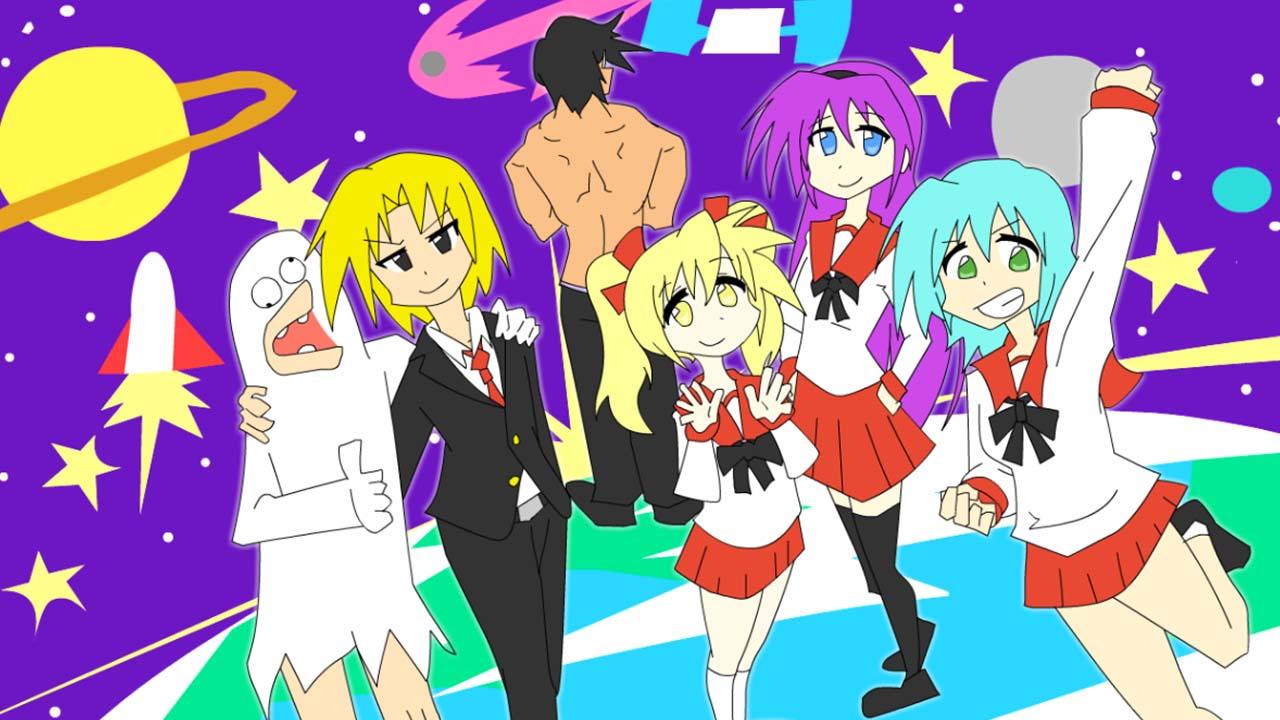 Animate CCアニメーション作品「ミルク・ティー」OPできたよー!
